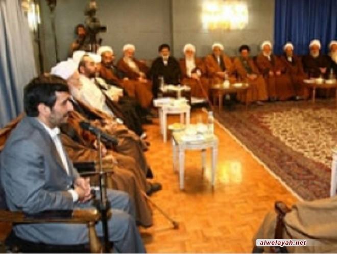 أحمدي نجاد: الثورة الإسلامية هي الهدية الإلهية للبشرية جمعاء