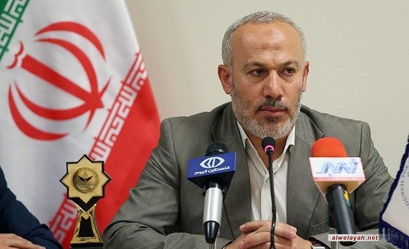 ناصر أبو شريف: الثورة الإسلامية اكبر ثورة في القرون الأخيرة