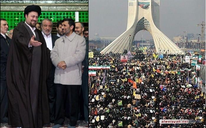 أحمدي نجاد: الثورة الإسلامية تمثل العامل الأساسي في التطورات العالمية