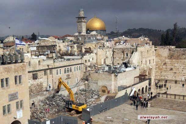 الأخطار والاعتداءات التي تعرض لها المسجد الأقصى المبارك منذ احتلاله