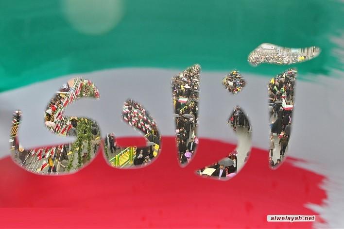 الشعب الإيراني يبدأ احتفاله بالذكرى الـ 30 لانتصار الثورة الإسلامية