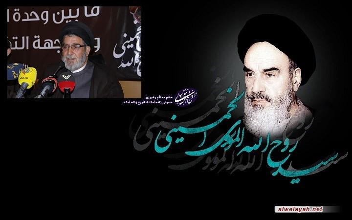 السيد إبراهيم السيد: الذكرى السنوية لرحيل الإمام الخميني أصبحت محطة عالمية للمقاومة