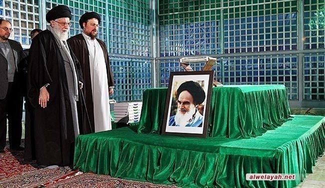 حفيد الإمام الخميني(رضوان الله عليه): يجب التعرف على شخصية الإمام الراحل عبر إيمانه