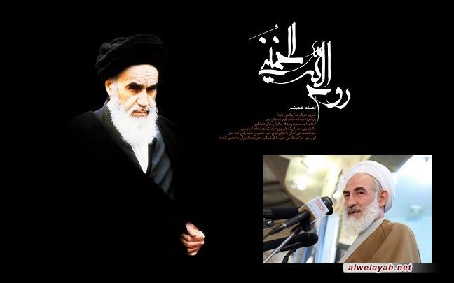 شيخ سليماني: أثبت الإمام الخميني أنّ الإدارة المادية غير قادرة على إدارة العالم
