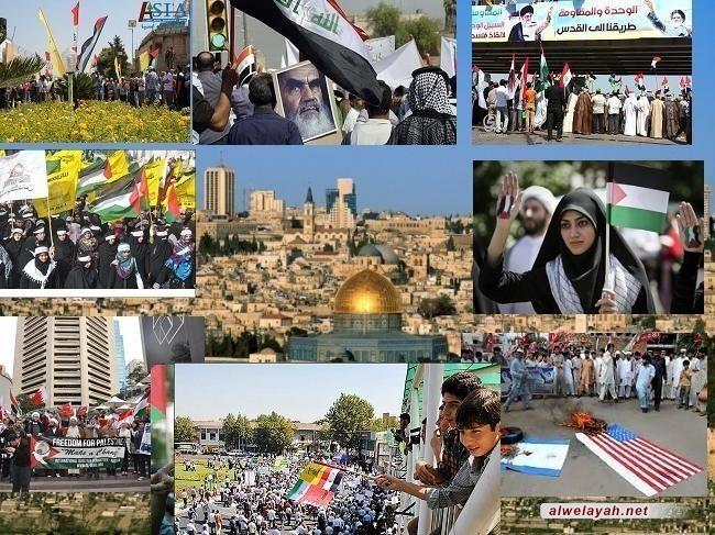 العالم الاسلامي يحي ذكرى (يوم القدس العالمي)