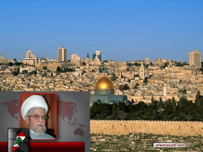 النابلسي: يوم القدس العالمي الذي أطلقه الإمام الخميني أسس لاستنهاض الشعوب العربية والإسلامية