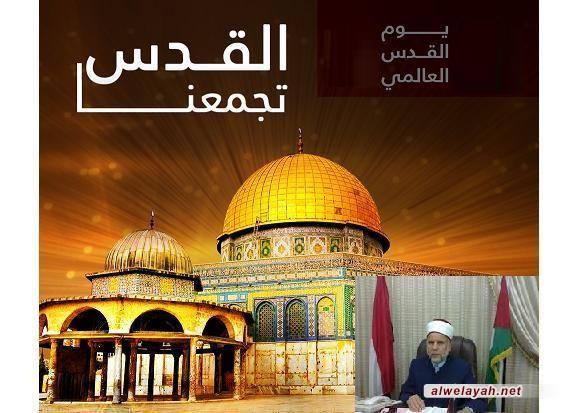 د. إسماعيل بلبل: الإمام الخميني عمّق روح الارتباط المباشر بالقدس والأقصى