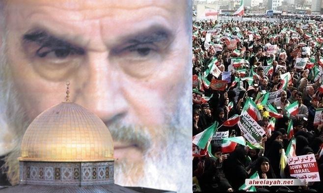 تنبيه المسلمين في العالم للقيام ضد الاستكبار والصهيونية والاهتمام بيوم القدس