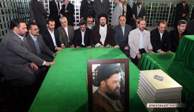 أحمدي نجاد: الإمام الخميني كان سياسياً بارعاً وزاهداً