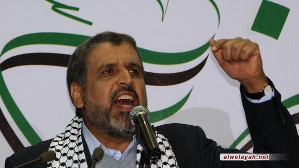 رمضان شلّح: انتصار الثورة في إيران كان فاتحة لعصر الانتصارات في فلسطين ولبنان