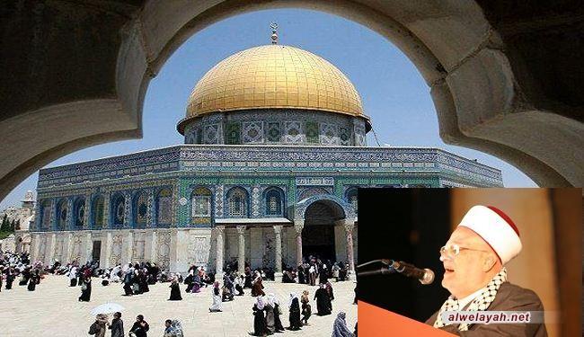 عكرمة صبري: الدعم العربي للقدس يقتصر على افطارات رمضان