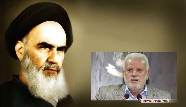 فتحي أبو العردات: فكر الإمام الخميني طريق نحو إعادة الحق الفلسطيني
