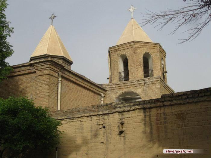 كنيسة الأرمن في طهران تحتفل بالذكرى السنوية لانتصار الثورة