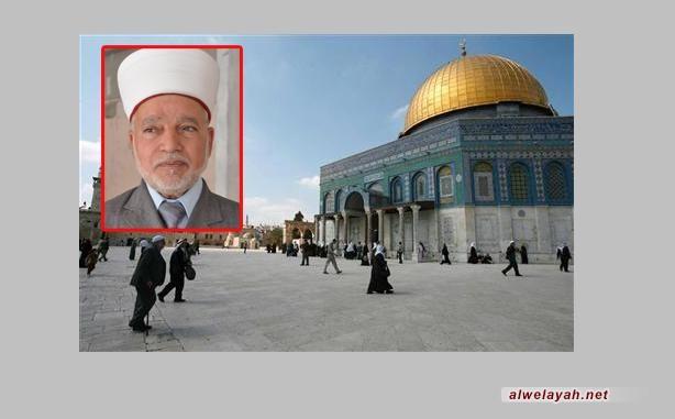مفتي القدس: الأقصى في خطر