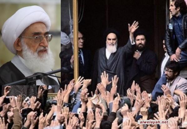 آية الله نوري همداني: استطاع الإمام إحياء الإسلام المحمدي الأصيل بجهاده