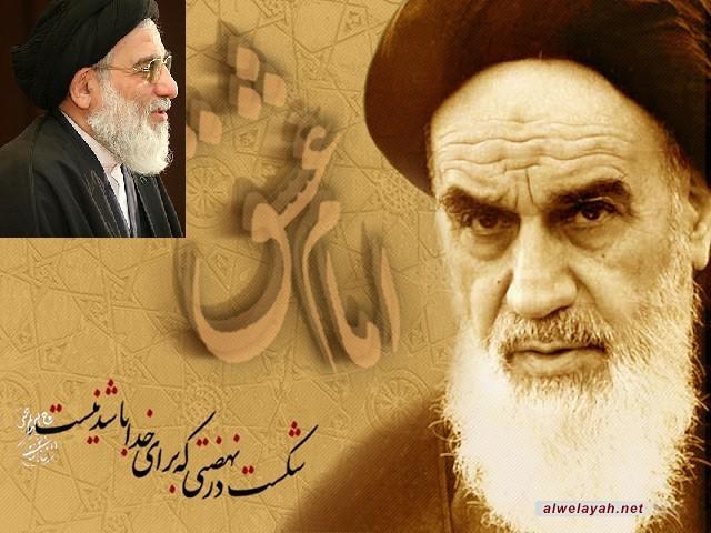 آية الله هاشمي شاهرودي: لقد تجلى الحق في جميع مفاصل حياة الإمام الراحل