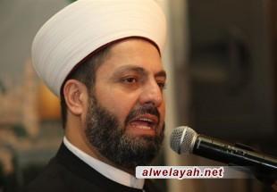 الشيخ بلال شعبان: مجمع التقريب يقوم بجهود كبيرة للحفاظ على وحدة الأمة في مقابل الهجمة التكفيرية