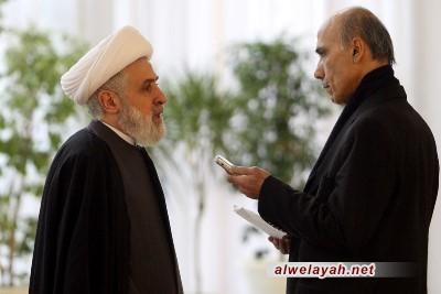 الشیخ نعيم قاسم: مؤتمر التقريب خطوة لمواجهة أعداء الإسلام
