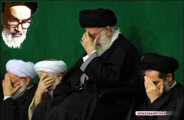قائد الثورة الاسلامية يقيم مجلس عزاء بذكرى رحيل مؤسس الثورة الاسلامية