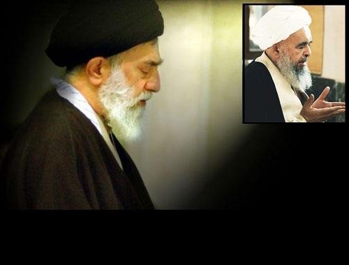 القائد يزور مرقد ثالث شهداء المحراب آية الله صدوقي (ره)
