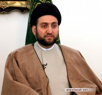 السيد عمار الحكيم: الثورة الإسلامية في إيران أسقطت واحد من اطغى طواغيت العصر