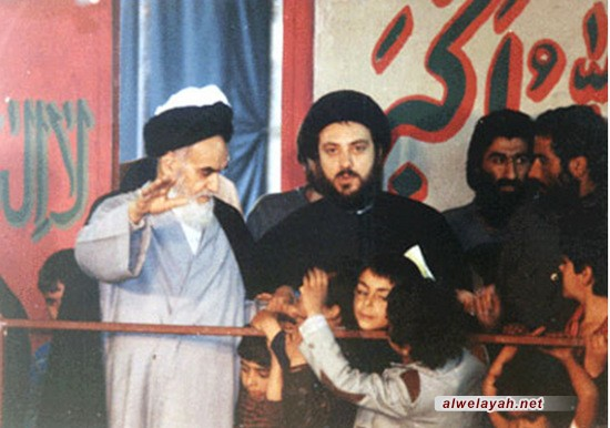 الإمام الخميني والقضية العراقية