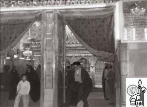 معرض صور نادرة للإمام الخمیني بمناسبة  الذکری السنویة الـ(۲۴) لرحیله قدس سرة