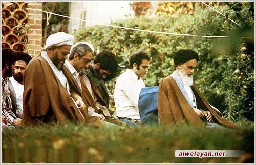 مع الإمام الخميني في شهر رمضان
