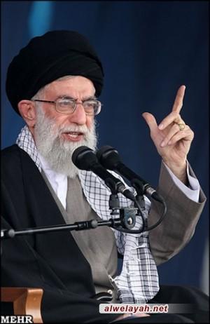 قائد الثورة والأمين العام لحزب الله والدعوة للدفاع عن غزة