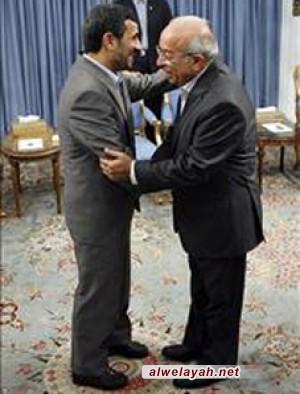 فهمي هويدي بصراحة مع الرئيس أحمدي نجاد