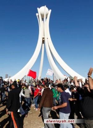 مسيرات ليلية حاشدة بالبحرين وجمعية الوفاق تدعو لقضاء مستقل