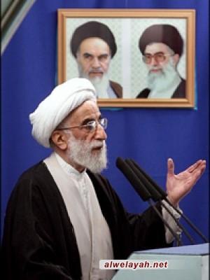خطيب جمعة طهران يندد بمجازر آل خليفة ضد الشعب البحريني