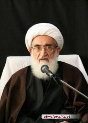 آية الله نوري همداني: على حکام البحرين الاتعاظ بمصير القذافي ومبارك