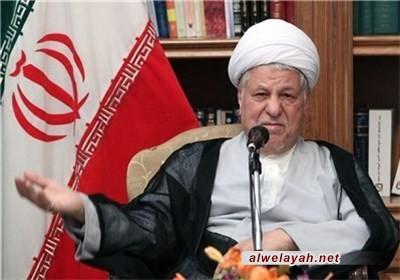 الشيخ رفسنجاني: الإسلام كان السباق في مجال حقوق الإنسان