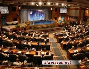 نواب مجلس الشورى الإسلامي يجددون العهد والميثاق مع الإمام الخميني(رض)