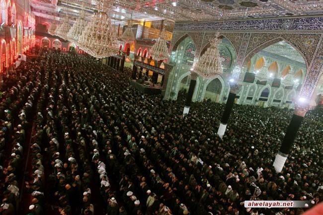 المأتم الحسينيّ مؤسّسة لبناء فكر أهل الولاء