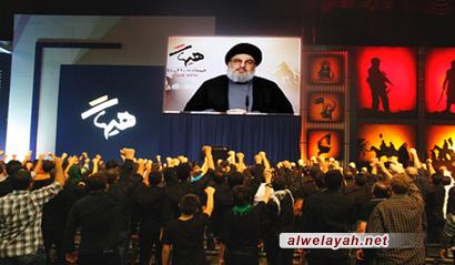 السيد نصر الله: نهج الإمام الحسين(ع) قادر على صنع المجد للأمة