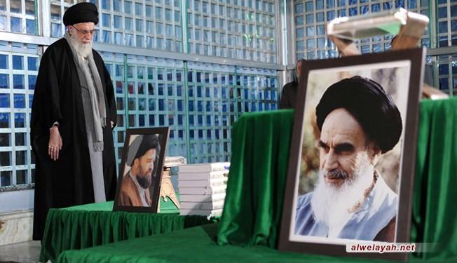 قائد الثورة الإسلامية في ذكرى وفاة الإمام الراحل (رض)