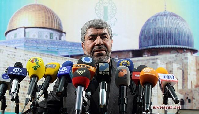 العميد رمضان شريف: الانتفاضة في فلسطين حية نابضة