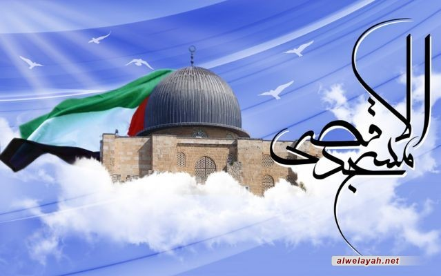 مقتطفات من كلمات الإمام الخمینی (ره) والإمام الخامنئي (دام ظله) حول یوم القدس العالمي