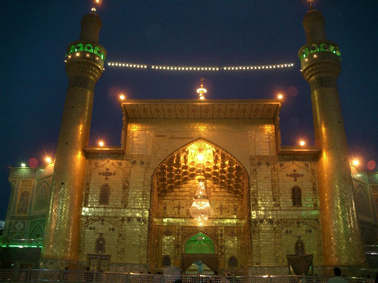 أنشودة باللغة الفارسية حول حماة مراقد الأئمة الأطهار
