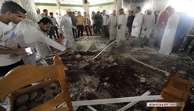 عشرات الشهداء والجرحى بتفجير في مسجد بالقطيف