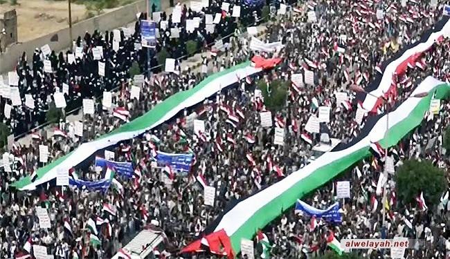 مسيرات حاشدة لليمنيين في عدة محافظات إحياء ليوم القدس