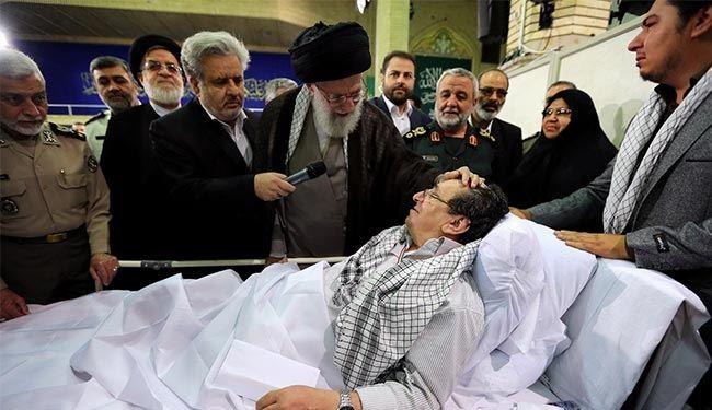 قائد الثورة الإسلامية: معاقو الحرب الإيرانيون يجسدون جرائم حماة صدام