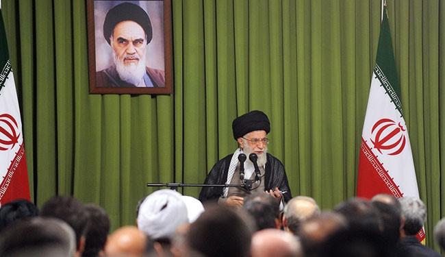 قائد الثورة الإسلامية يؤكد ضرورة التصدي لمواقف أميركا العدائية