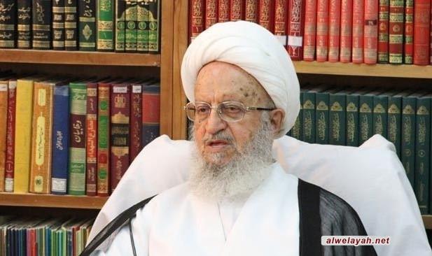 بيان سماحة آية الله العظمى الشيخ ناصر مكارم الشيرازي حول أوضاع غزة