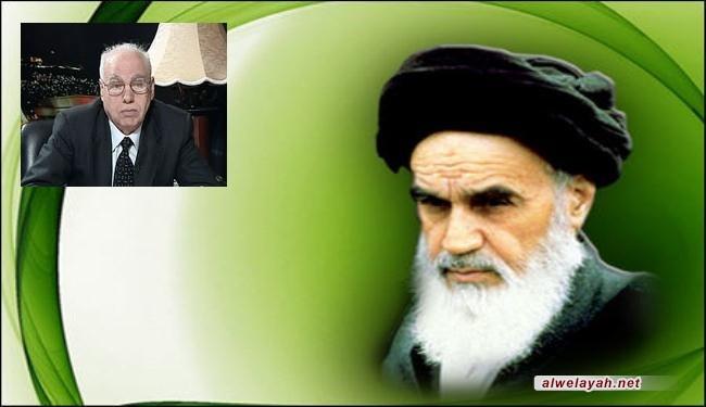الأمين العام لإتحاد الكتاب العرب: إن الإمام الخميني أعاد الثقة الى نفوس المسلمين