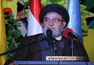 السيد أمين السيد: انتصار الثورة الإسلامية كشف خداع بعض الأنظمة العربية تجاه فلسطين