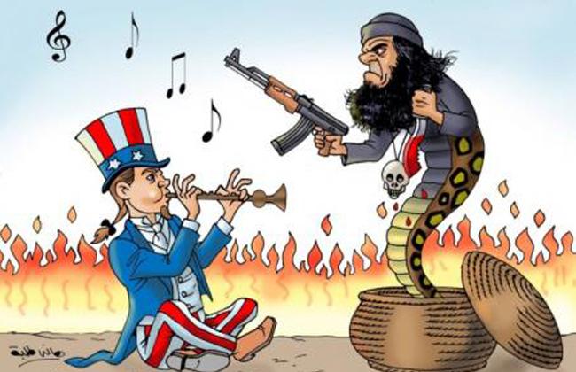 الحكومة الأمريكية أسوء من داعش الذي أوجدته هي