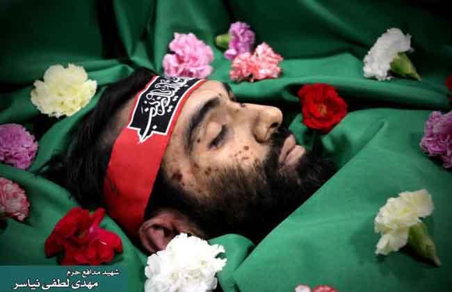 ماذا قال الشيخ لطفي عند جسد ابنه (شهيد مطار تيفور السوري) ؟